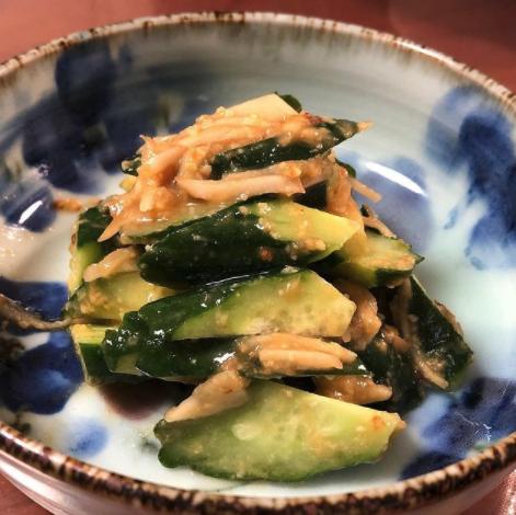 (レシピ)きゅうりの酢味噌和え