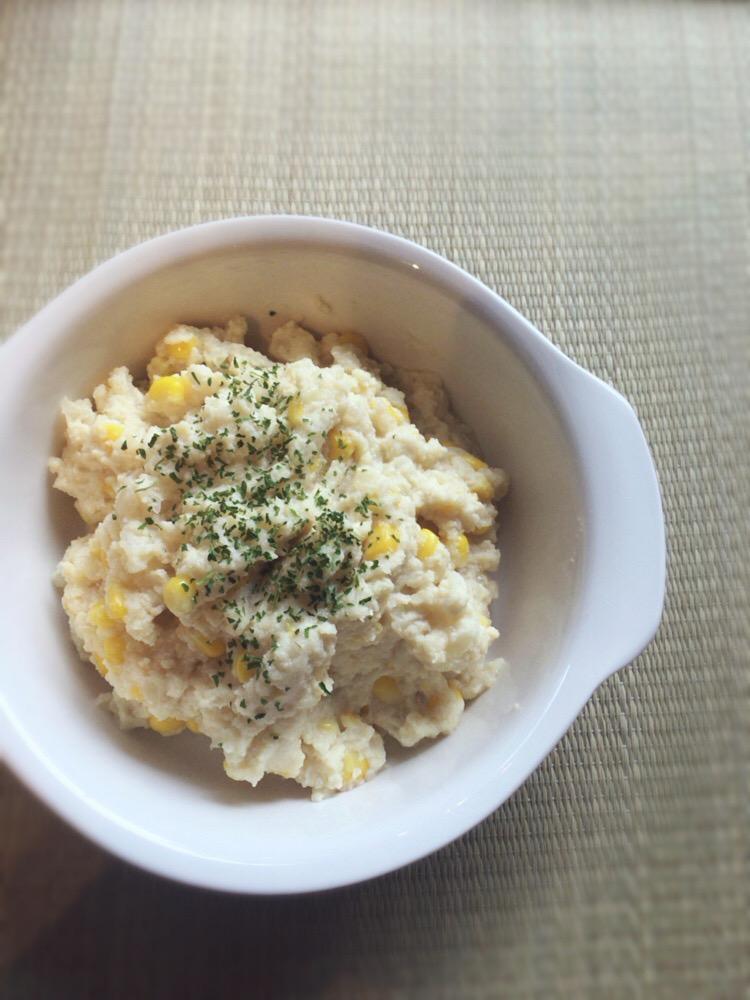 (おから研究会)-レシピ-「おからバターミルク煮」