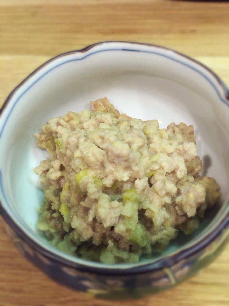 (おから研究会)-レシピ-「肉味噌風 おからそぼろ」