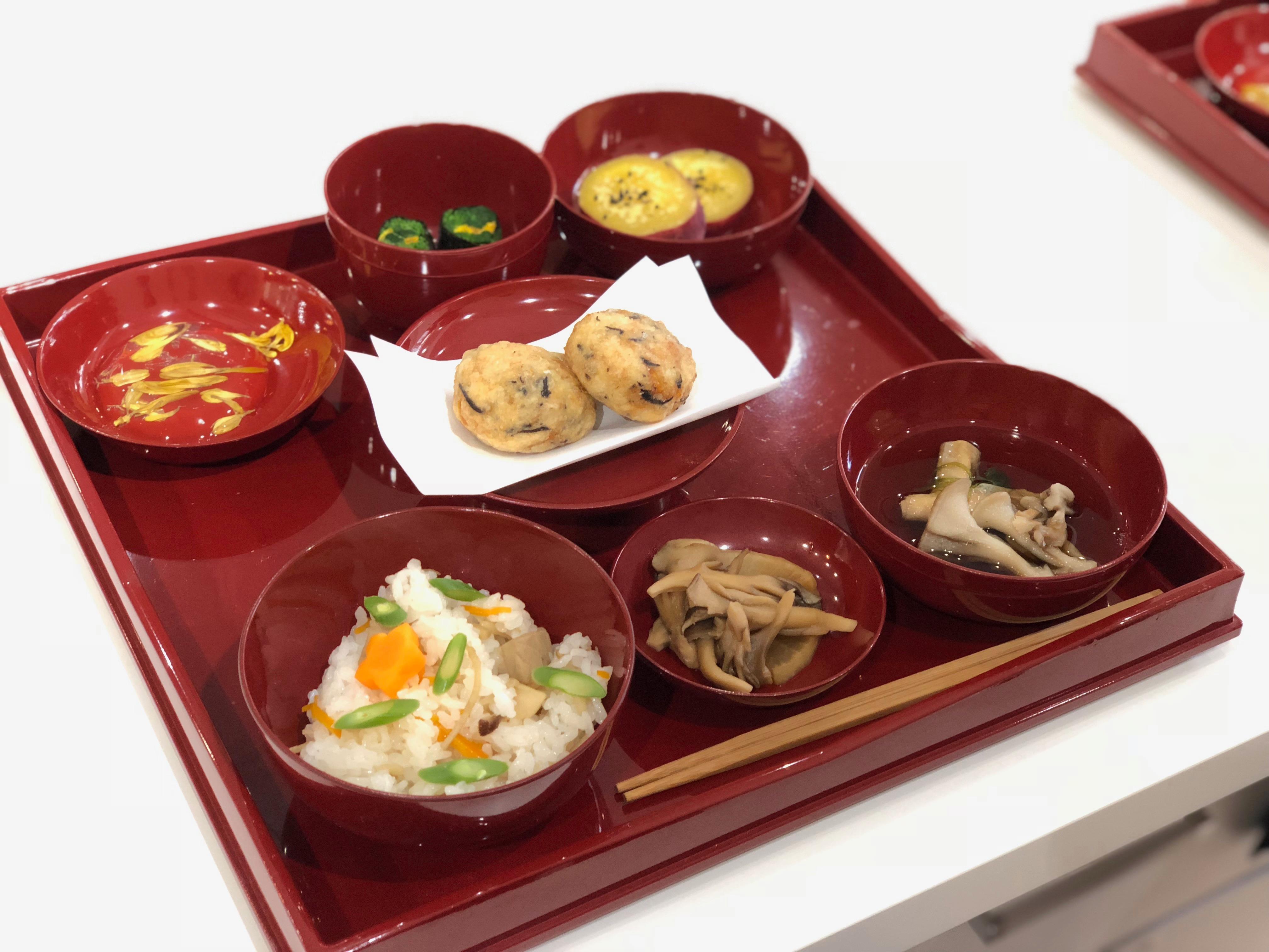 (和ごはん研究会)-活動報告-「2018年9月伝統の精進料理教室」開催しました!