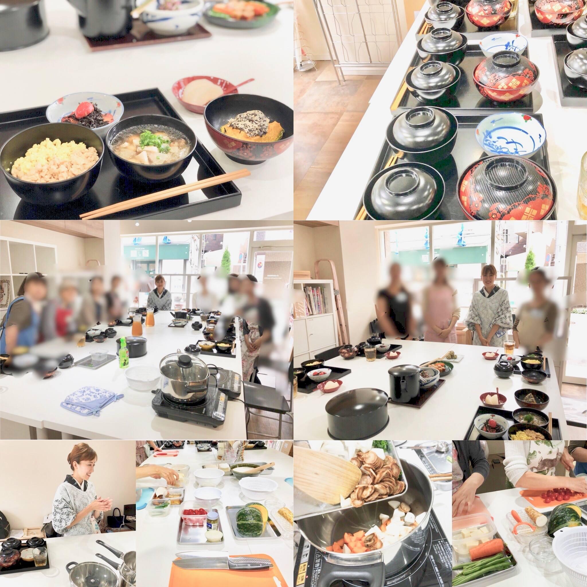 (和ごはん研究会)-活動報告-「2018年9月茶懐石精進料理教室」開催しました!