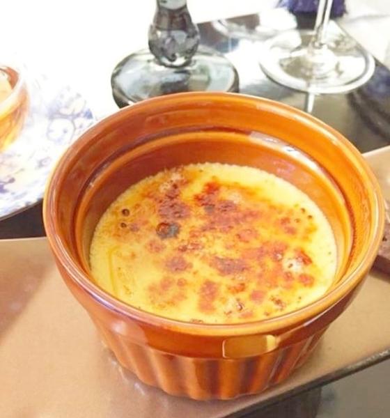 (発酵食研究会)-レシピ-みりんシロップで作るクレームブリュレ