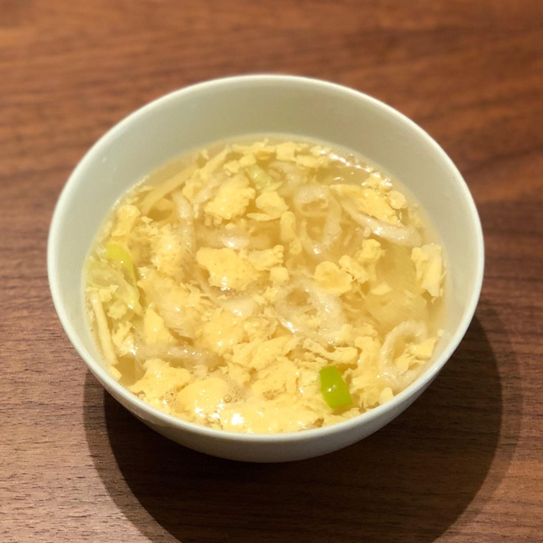 (おから研究会)-レシピ-「おからと卵のスープ」