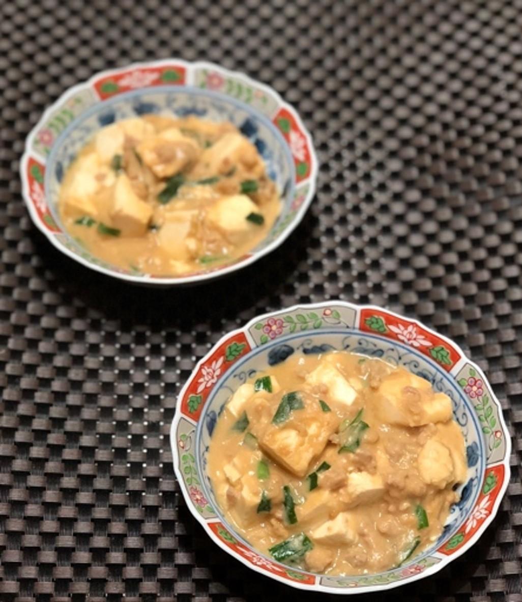 (おから研究会)-レシピ-「おから麻婆豆腐」