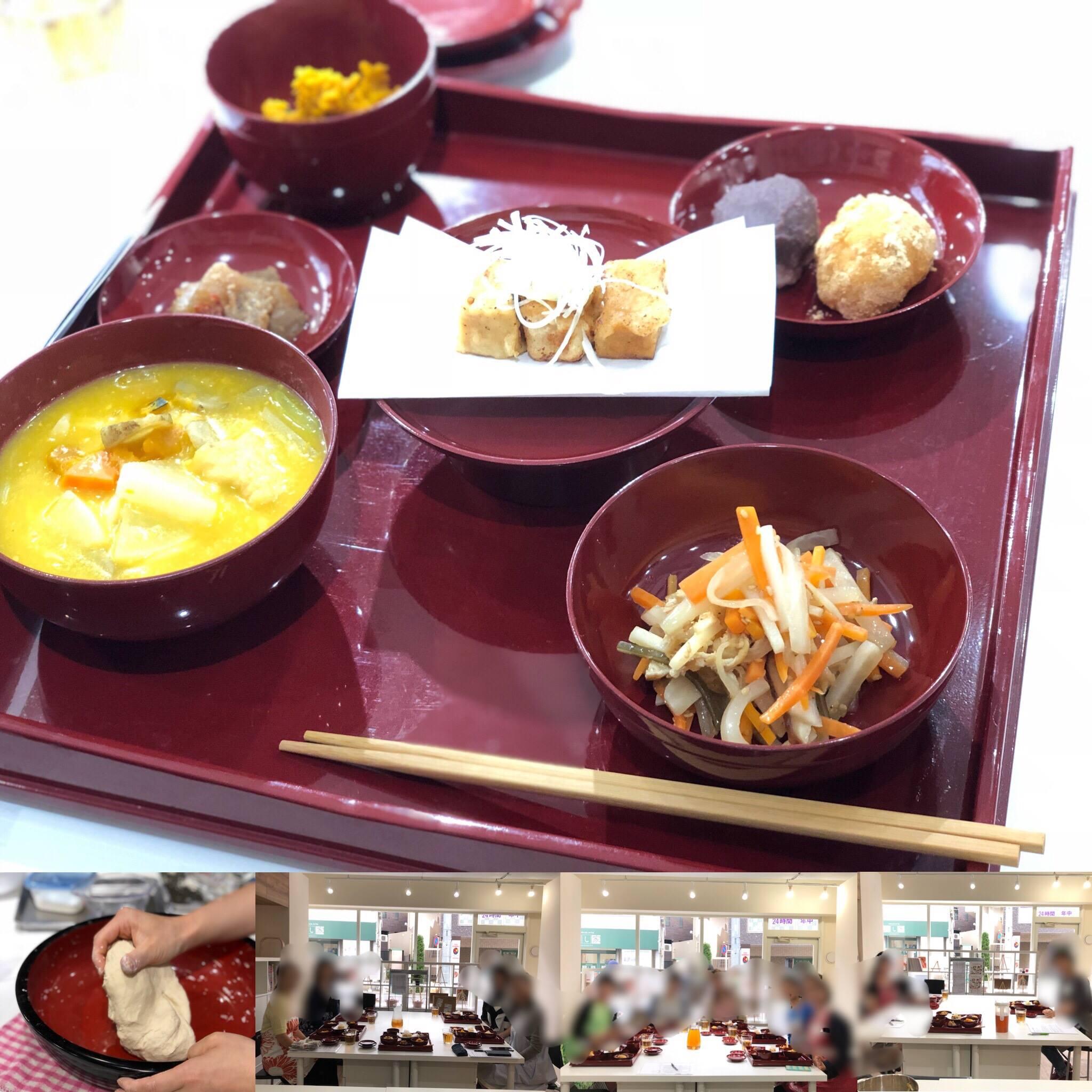 (和ごはん研究会)-活動報告-「2018年10月伝統精進料理教室」開催しました!