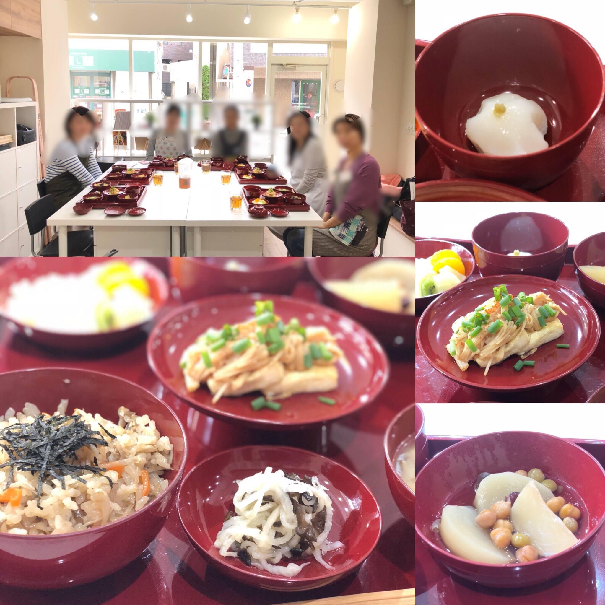 (和ごはん研究会)-活動報告-「伝統精進料理教室」開催しました!