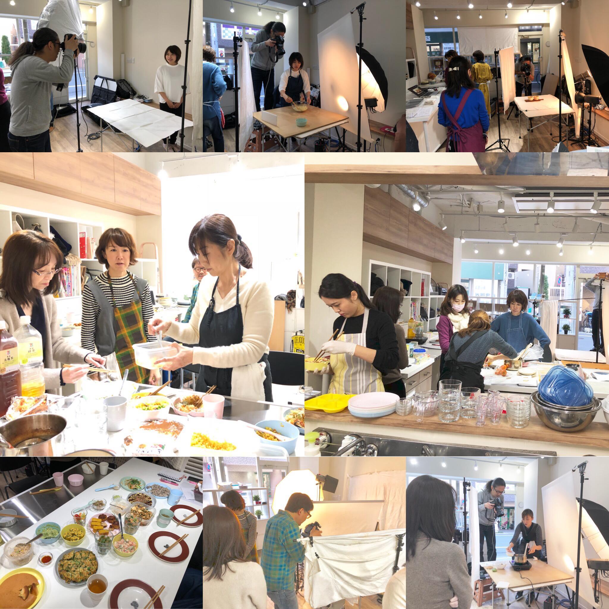 (おから研究会)-活動報告-「1月おから研究会撮影会」開催しました!