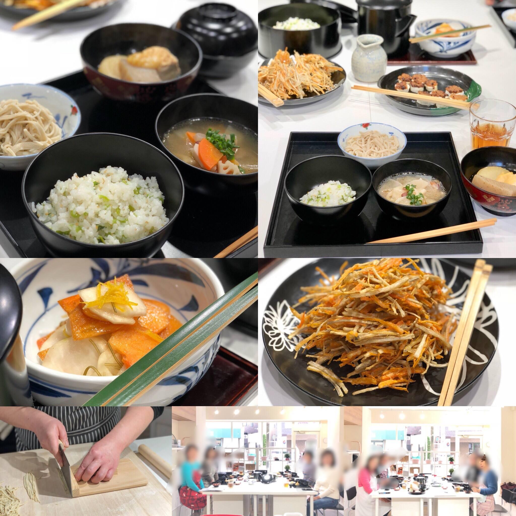 (和ごはん研究会)-活動報告-「茶懐石精進料理教室」開催しました!