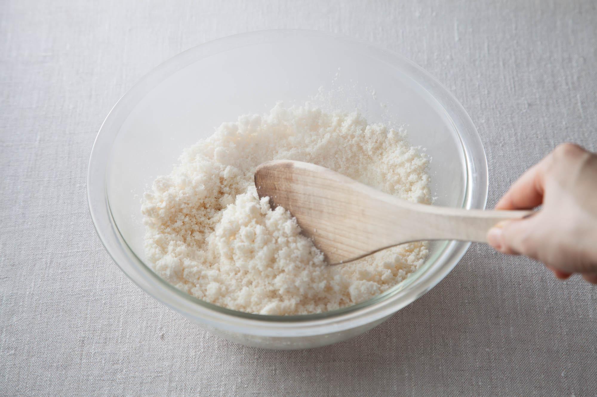 生おからを乾燥おからにする方法
