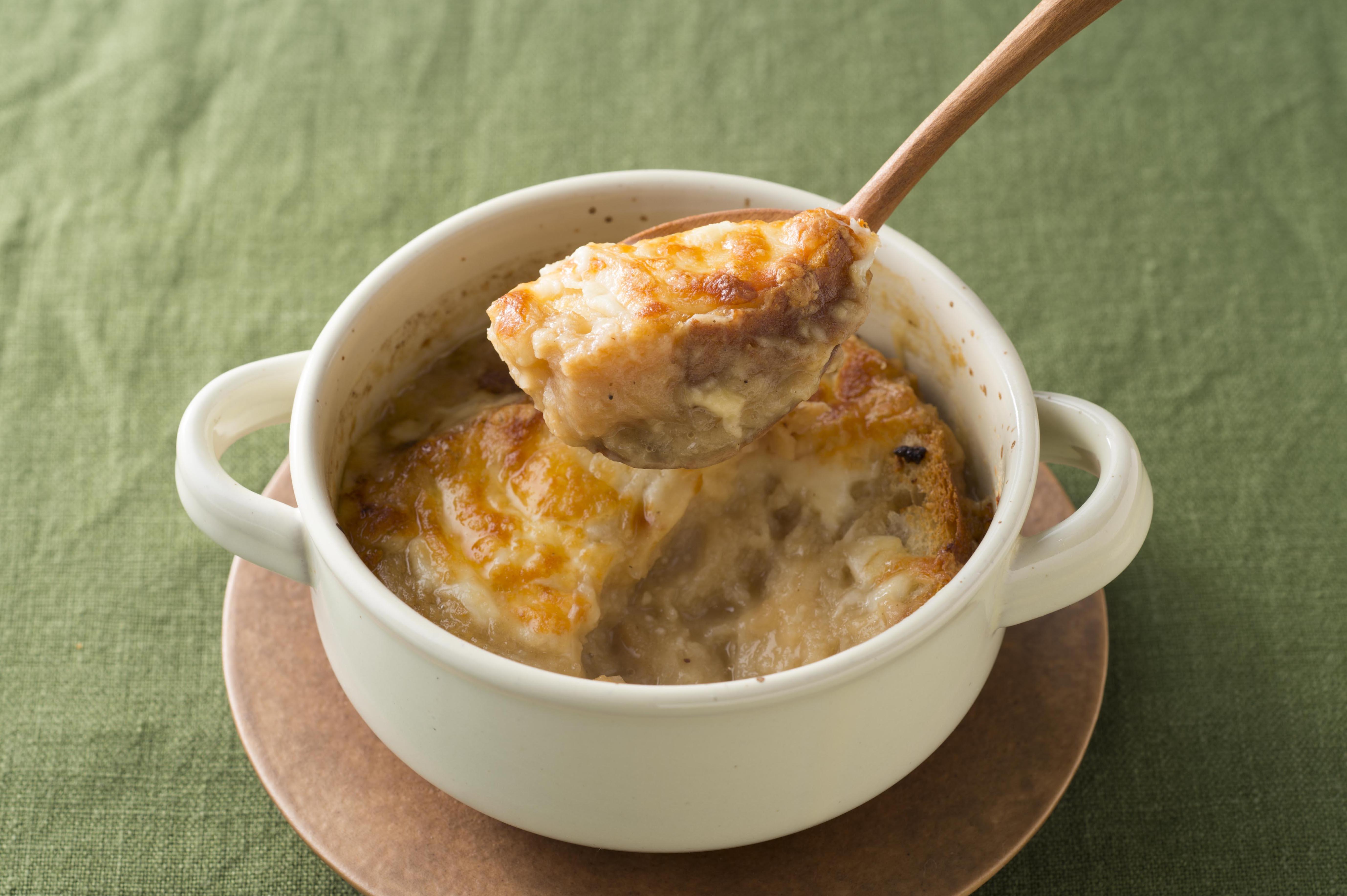 グラタン スープ オニオン