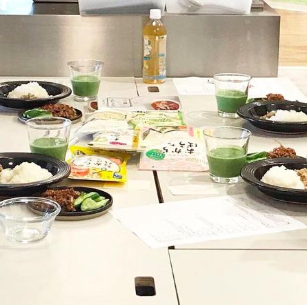 (おから研究会)-活動報告-おからパウダーを使った料理教室を開催しました!