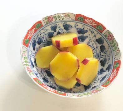 【レシピ】薩摩芋おいしい酢煮