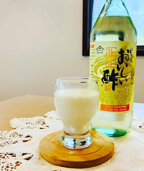 【レシピ】おいしい酢で作るラッシー風
