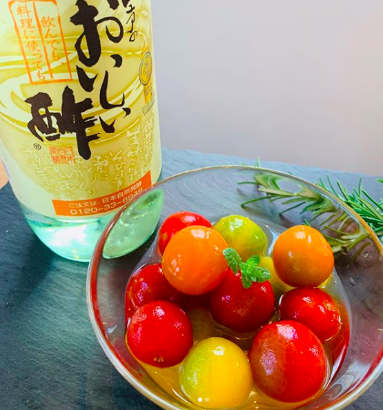 【レシピ】ミニトマトのハニーマリネ