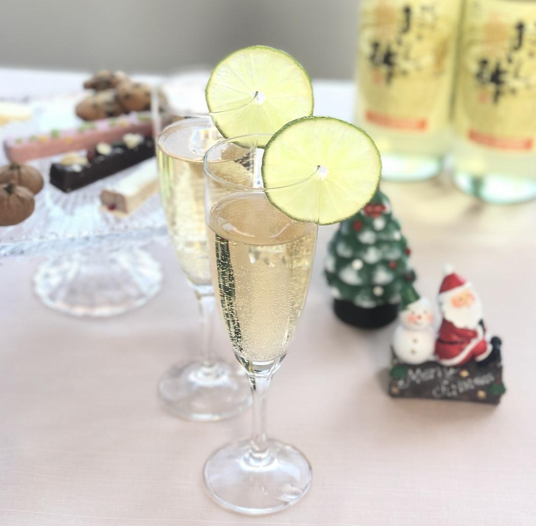 (レシピ)シャンパン風ノンアルコールカクテル