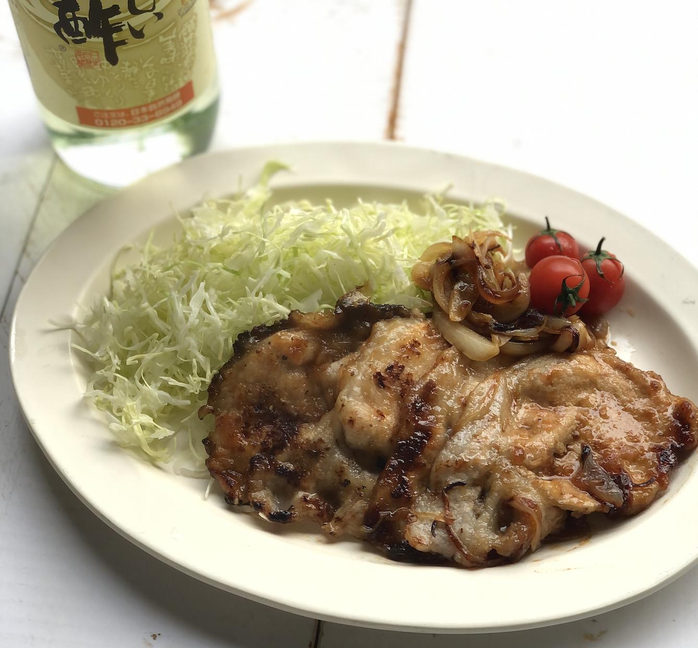 (レシピ)豚の生姜焼き