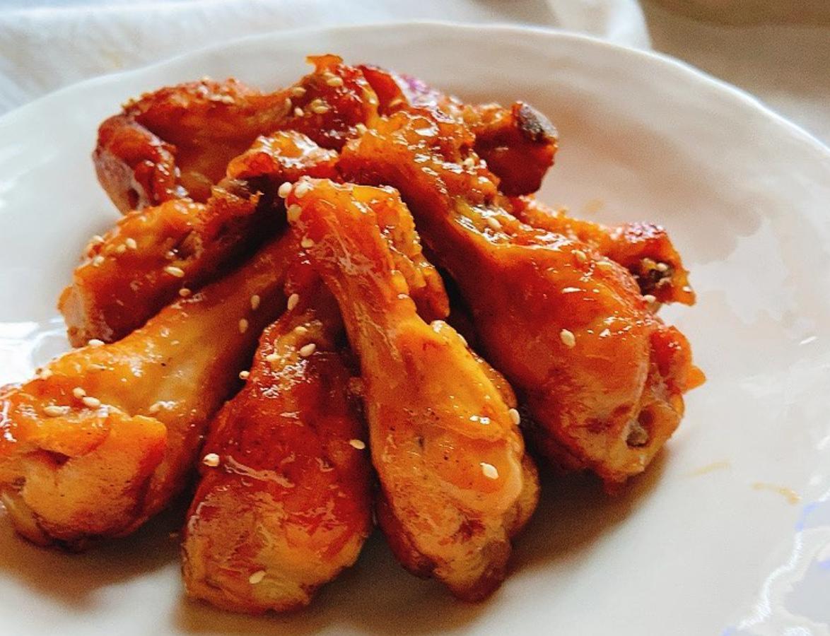 (レシピ)鶏手羽元のこってり甘辛さっぱり煮