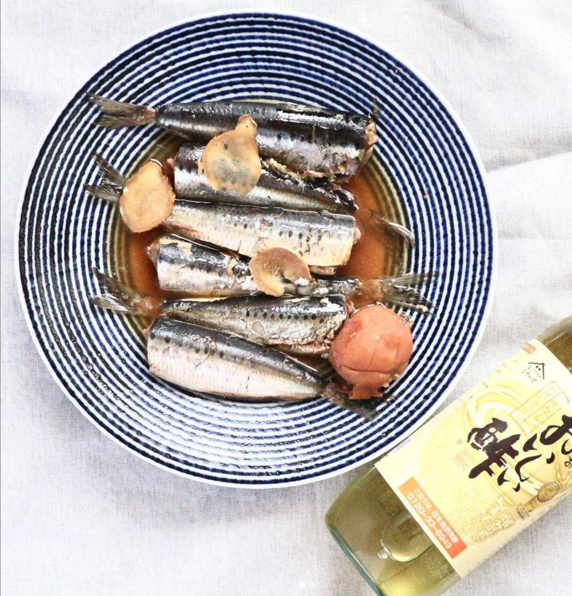 (レシピ)鰯のおいしい酢煮