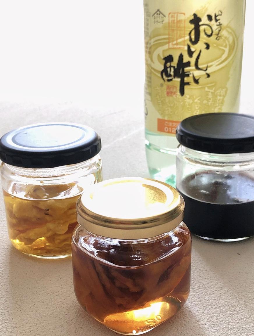 (レシピ)ドライフルーツ酢