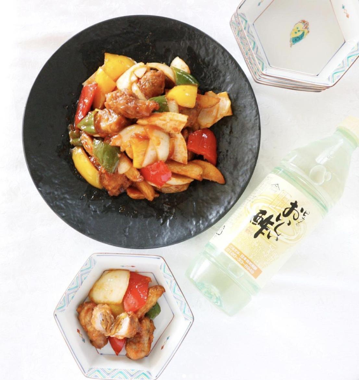 (レシピ)酢豚